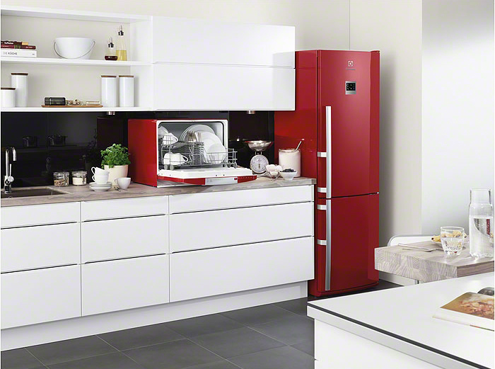 Цветные холодильники  и цена
