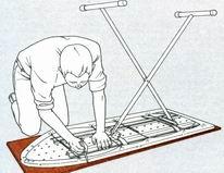 Гладильная доска своими руками чертежи